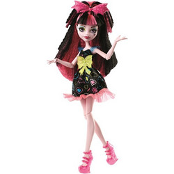 Monster High, Draculaura, Electrified Monstrous Hair Ghouls