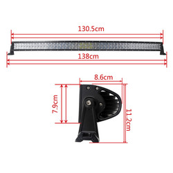 Led valopaneeli 300w curved