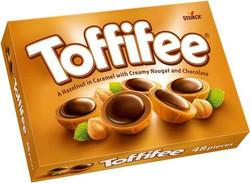Toffifee 400 g suklaamakeis rasia