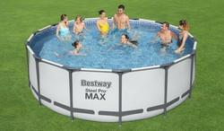 Bestway Steel Pro MAX allassetti 457 cm x 107 cm 14970 litraa.