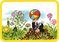 Postkort, Mullvaden och bollen