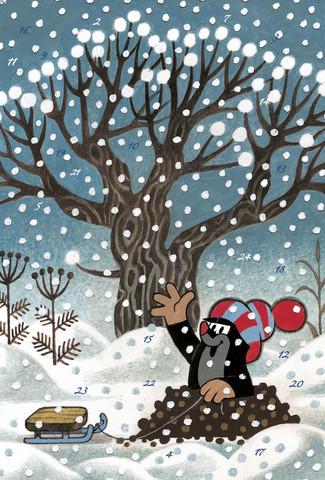 Mullvad Julkalender, A4, Motiv 2