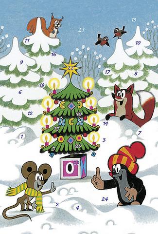 Mullvad Julkalender, A4, Motiv 3