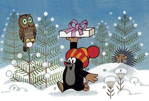 Mullvad Julkalender, A4, Motiv 5