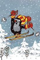 Myyrä-joulukalenterikortti, Aihe 1