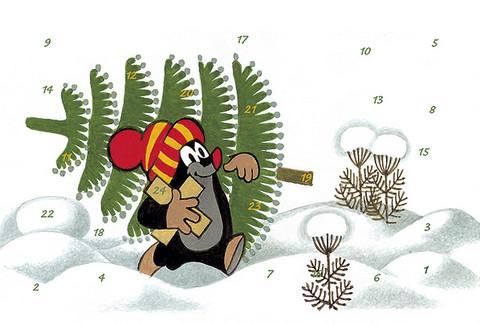 Mullvad Julkalenderkort, Motiv 4