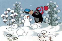 Myyrä-joulukalenterikortti, Aihe 6