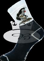 Sockor, mörkblå (storlek 20/24)