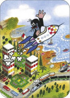 Postkort, Mullvaden och raketen