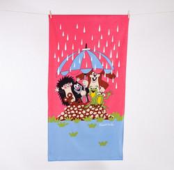 Mullvad Handduk, regn