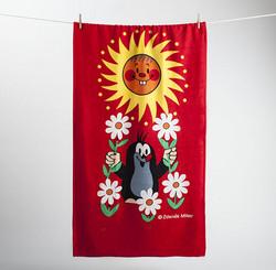 Myyrä-pyyhe, aurinko