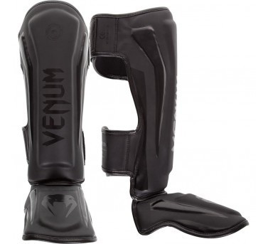 VENUM ELITE STANDUP SHINGUARDS - BLACK