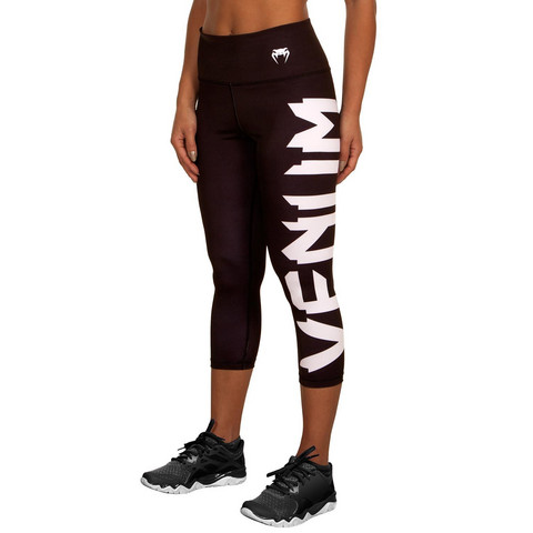 VENUM GIANT LEGGINGS CROPS - BLACK