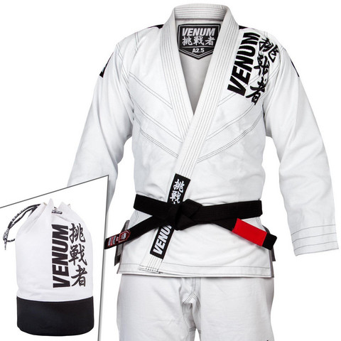 VENUM CHALLENGER 4.0 BJJ GI - (BAG INCLUDED) - WHITE