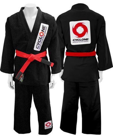 Cyclone Kimono Black