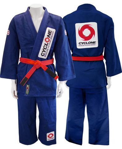 Cyclone Kimono Blue