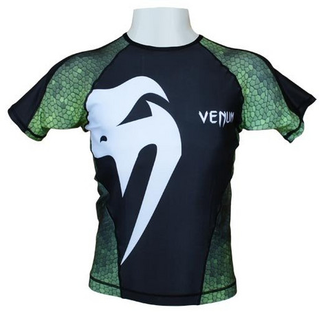 Venum Amazonia Rash Guard Green