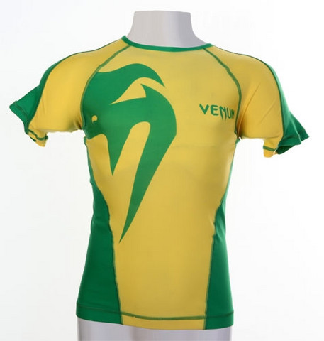 Venum Giant Brazil Rash Guard