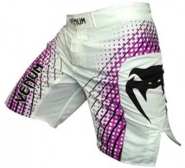 Venum Electron Fight Short Purple White