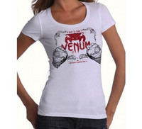 Venum 'Built 2 fight' Tshirt for Women - Ice