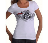 Venum 'Samourai' Tshirt for Women - Ice