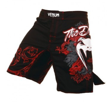 Venum Lyoto Machida UFC 140 Fight Short Black