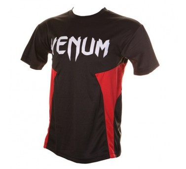Venum Jam Dry Fit Tee - Black/Red