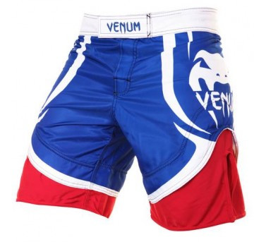 Venum Electron 2.0 fight short blue-red