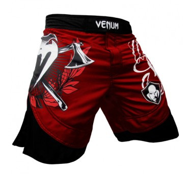 Venum Wanderlei 'The Axe Murderer' Silva Fightshorts - Red