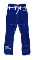 Bad Boy Rip-Stop BJJ Pants Blue