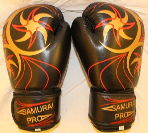 Samurai Pro Series 2.0 nyrkkeilyhanskat red-gold