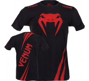 Venum Challenger tee black/red