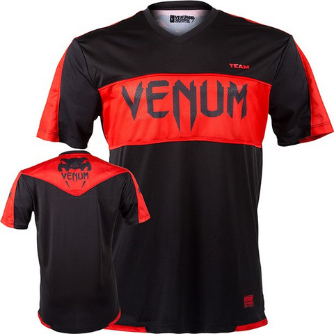 Venum Competitor Dry Tech tee- Red Devil