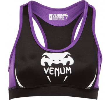 Venum Body Fit Top black/purple
