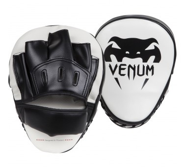 Venum Light Focus Mitts - Ice/Black (pari)
