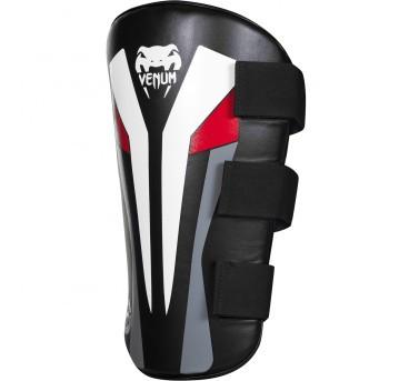 Venum Elite Leg Protector - Pair - Black/Ice/Red