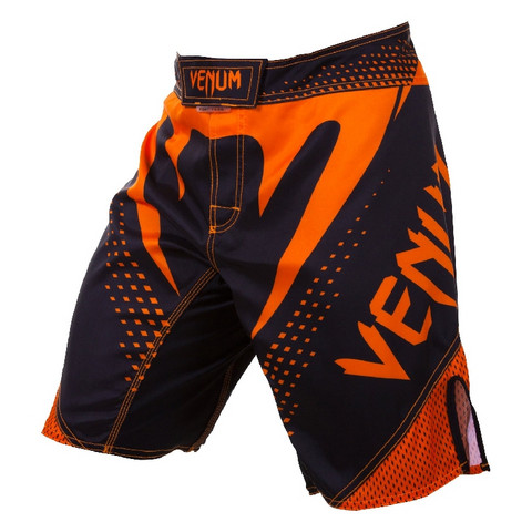 VENUM Hurricane Fight Short - Black/Neo-Orange