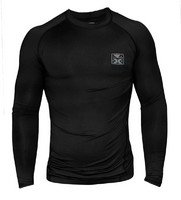 Bad Boy Onyx Compression L/S Top - Black/Grey