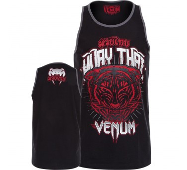 Venum Tiger King Top Tank - Black