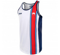 VENUM CUTBACK TANK TOP - ROYAL BLUE/RED