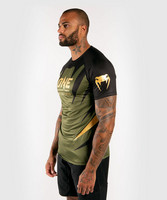 Venum x ONE FC Dry Tech T-shirt - Khaki/Gold