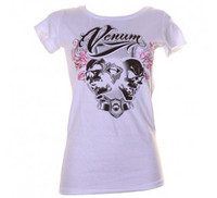 Venum 'Brazilian Fighter' Tee for Women - Ice