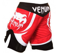 Venum Electron 2.0 fight short red-white