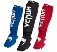 Venum 'Kontact' shinguards and insteps - Cotton