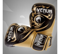 Venum Tribal Boxing Gloves black-gold