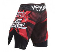 Venum Dan Hardy Outlaw fightshorts - Red