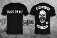 Pride Or Die fight club tee