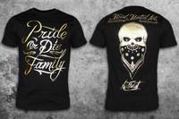 Pride Or Die Family Gold t-paita
