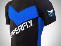 DO OR DIE Hyperfly PRO COMP rashguard blue