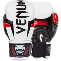 Venum Elite Boxing Gloves ice-black-red